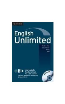 English Unlimited Intermediate Teacher's Pack (Teacher's Book with DVD-ROM) -- Příručka učitele