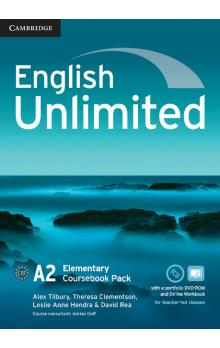 English Unlimited Elementary Coursebook with e-Portfolio and Online Workbook -- Učebnice
