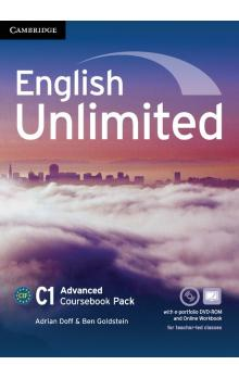 English Unlimited Advanced Coursebook with e-Portfolio and Online Workbook -- Učebnice