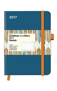 Di�� Cool Diary Petrol/Feather White 2017 WEEKLY (16 x 22 cm)