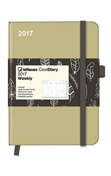 Di�� Cool Diary Sand/Feather White 2017 WEEKLY (16 x 22 cm)