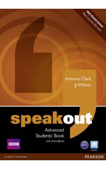 Speakout Advanced Students´ Book and DVD/Active Book Multi Rom Pack