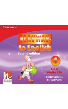 Playway to English Level 4 Class Audio CDs (3) -- CD