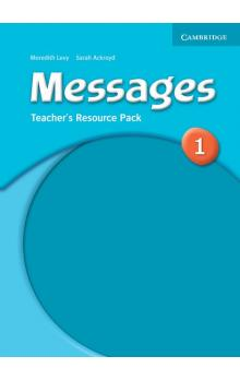 Messages 1 Teacher's Resource Pack -- Příručka učitele
