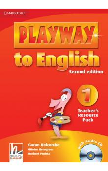 Playway to English Level 1 Teacher's Resource Pack with Audio CD -- Příručka učitele