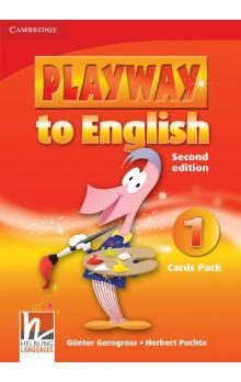 Playway to English Level 1 Cards Pack -- Doplňky