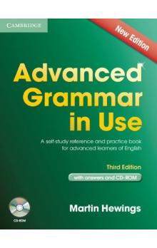 Advanced Grammar in Use Third Edition With Answers + CD-Rom Pack