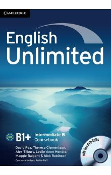 English Unlimited Intermediate B Combo with DVD-ROMs (2) -- Učebnice