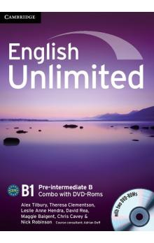 English Unlimited Pre-intermediate B Combo with DVD-ROMs (2) -- U�ebnice