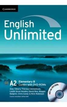 English Unlimited Elementary B Combo with DVD-ROMs (2) -- Učebnice