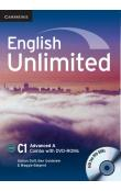 English Unlimited Advanced A Combo with DVD-ROMs (2) -- Učebnice