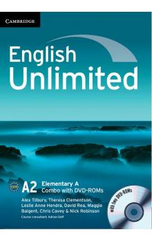 English Unlimited Elementary A Combo with DVD-ROMs (2) -- U�ebnice