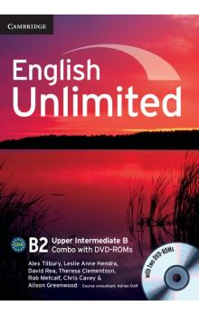 English Unlimited Upper Intermediate B Combo with DVD-ROMs (2) -- Učebnice