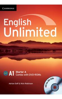 English Unlimited Starter A Combo with DVD-ROM -- Učebnice