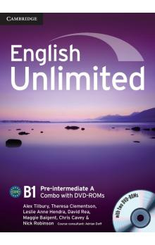 English Unlimited Pre-intermediate A Combo with DVD-ROMs (2) -- U�ebnice