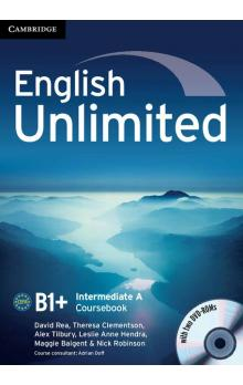 English Unlimited Intermediate A Combo with DVD-ROMs (2) -- Učebnice
