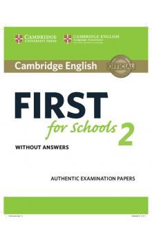 Cambridge English First for Schools 2 Student's Book without answers -- Roz�i�uj�c� vzd�l�vac� materi�ly