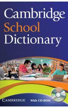 Cambridge School Dictionary with CD-ROM
