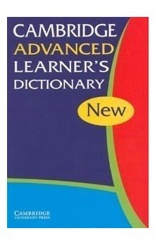 Cambridge Advanced Learner&#39s Dictionary 2003 Ed.