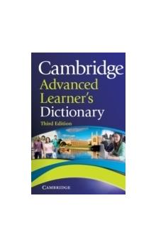 Cambridge Advanced Learner�s Dictionary Third Ed. Paperback