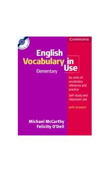 English Vocabulary in Use Elementary With Answers + CD-Rom