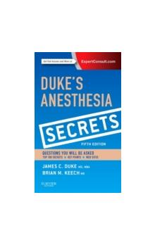 Duke�s Anesthesia Secrets 5th Ed.