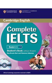 Complete IELTS Bands 4-5 Student's Book without Answers with CD-ROM -- Učebnice