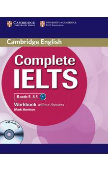 Complete IELTS Bands 5-6.5 Workbook without Answers with Audio CD -- Pracovní sešit