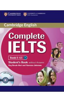 Complete IELTS Bands 5-6.5 Student's Book without Answers with CD-ROM -- Učebnice - Brook-Hart Guy, Jakeman Vanessa