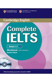 Complete IELTS Bands 4-5 Workbook with Answers with Audio CD -- Pracovní sešit