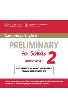 Cambridge English Preliminary for Schools 2 Audio CDs (2) -- CD