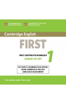Cambridge English First 1 for Revised Exam from 2015 Audio CDs (2)    CD
