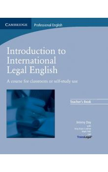 Introduction to International Legal English Teacher's Book -- Příručka učitele