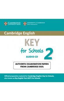 Cambridge English Key for Schools 2 Audio CD -- CD
