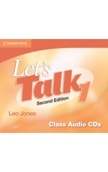 Let's Talk Level 1 Class Audio CDs (3) -- CD - Jones Leo