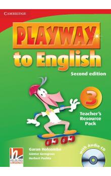 Playway to English Level 3 Teacher's Resource Pack with Audio CD -- Příručka učitele