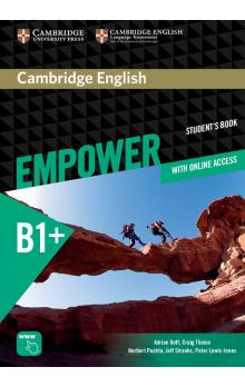 Cambridge English Empower Intermediate Student's Book with Online Assessment and Practice and Online Workbook -- Učebnice