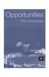Opportunities Pre-intermediate Teacher's Book