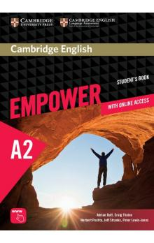 Cambridge English Empower Elementary Student's Book with Online Assessment and Practice, and Online Workbook -- Učebnice