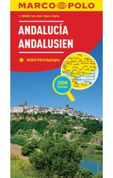 Andalusie/mapa 1:300T MD(ZoomSystem)