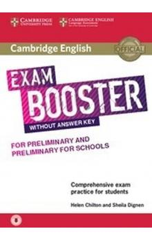 Cambridge English Exam Booster for PET and PET for Schools without Answer Key with Audio -- Rozšiřující vzdělávací materiály
