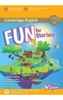 Fun for Starters Student's Book with Home Booklet and online activities, 4E -- Učebnice
