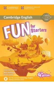 Fun for Starters Teacher´s Book with Downloadable Audio, 4E -- Příručka učitele