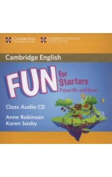 Fun for Starters Class Audio CD, 4E -- CD