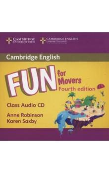 Fun for Movers Class Audio CD, 4E -- CD