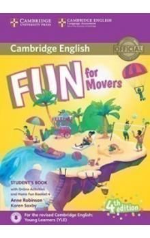Fun for Movers Student's Book with Online Activities with Audio and Home Fun Booklet, 4E -- Učebnice