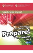 Cambridge English Prepare! Test Generator Level 5 CD-ROM -- CD