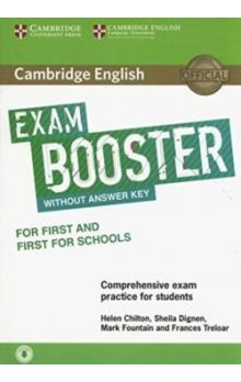 Cambridge English Exam Booster for First and First for Schools without Answer Key with Audio -- Rozšiřující vzdělávací materiály