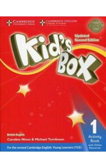 Kid`s Box Level 1 Activity Book with Online Resources, 2E Updated -- Pracovní sešit