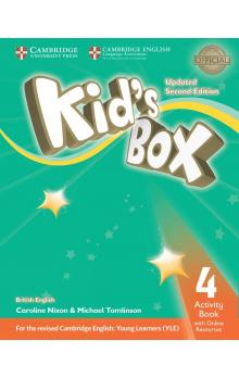 Kid's Box Level 4 Activity Book with Online Resources, 2E Updated -- Pracovní sešit